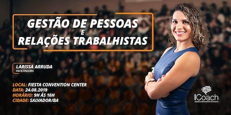 TREINAMENTO INTENSIVO GESTÃO DE PESSOAS E RELAÇÕES TRABALHISTAS tickets