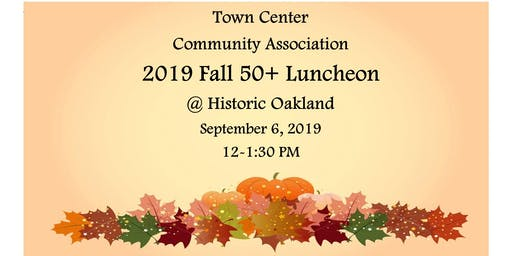 Town Center 50+ Fall Luncheon