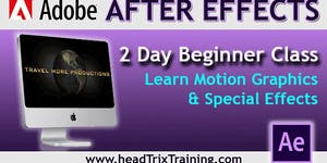 Save 20% on After Effects Level 1 Training in Los...