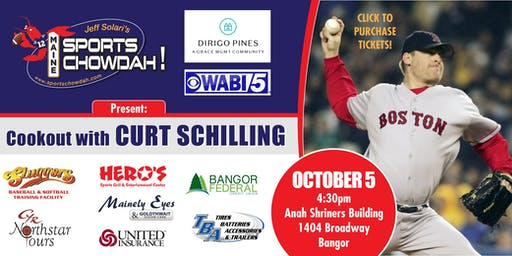 Cookout With Curt Schilling Presented by Dirigo Pines