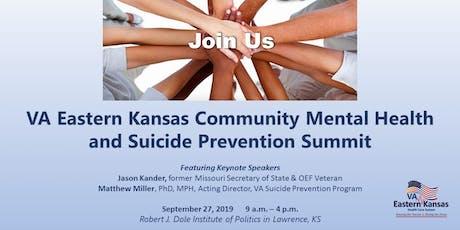 VA Eastern Kansas Community Mental Health & Suicide Prevention Summit tickets