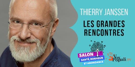THIERRY JANSSEN: LES GRANDES RENCONTRES.