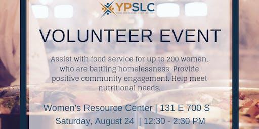 YPSLC Volunteer Event - Women's Resource Center