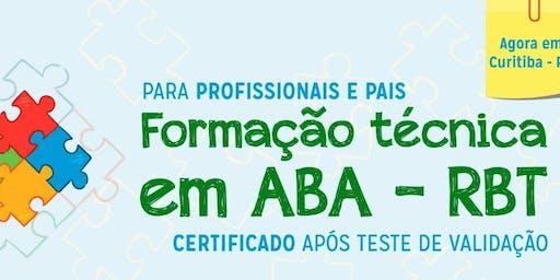 Formação Técnica em ABA - RBT