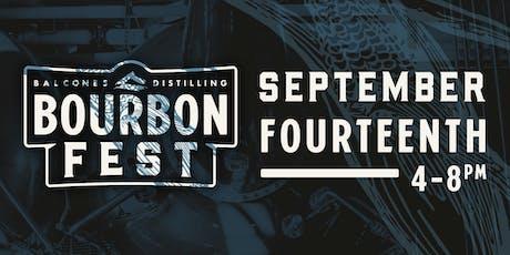 Balcones Distilling Presents: BourbonFest tickets