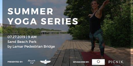 Namaste Y'all x Thunderbird Real Food Bars Summer Yoga Series tickets