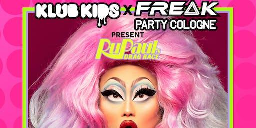 KLUB KIDS & FREAK PARTY COLOGNE presents KIM CHI (Rupaul's Drag Race)