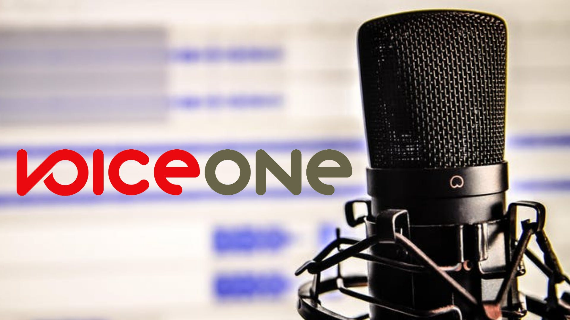 Introduction To Voice Over - December 3