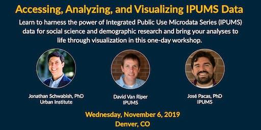 Accessing, Analyzing, and Visualizing IPUMS Data