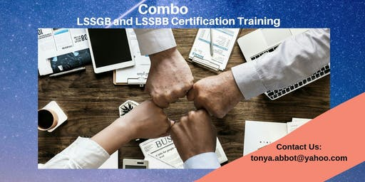 Combo Lean Six Sigma (LSSGB)&(LSSBB) Certification Training in Grand Island, NE