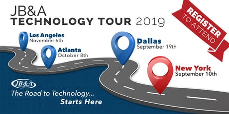 JB&A Technology Tour 2019 | New York tickets