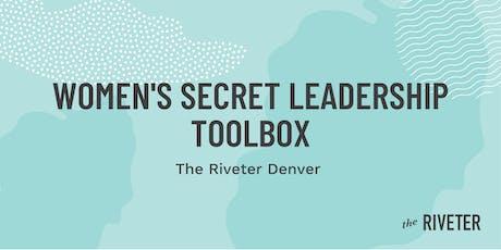 The Women's Secret Leadership Toolbox tickets