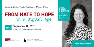 Public Dialogue on Human Rights: From Hate to Hope in a Digital Age