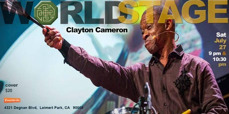 The World Stage presents *CLAYTON CAMERON & THE JASS EXPLOSION*  tickets