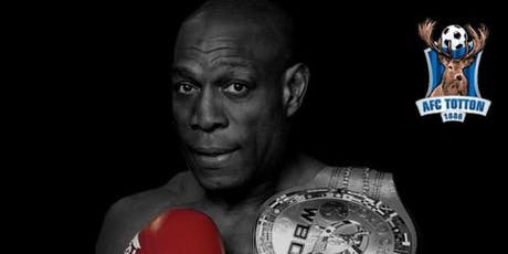 An Evening With Frank Bruno  MBE tickets