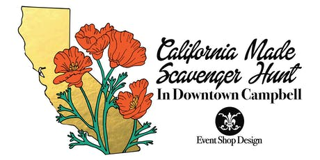 California Made Scavenger Hunt In Downtown Campbell tickets