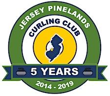 Jersey Pinelands Curling Club logo