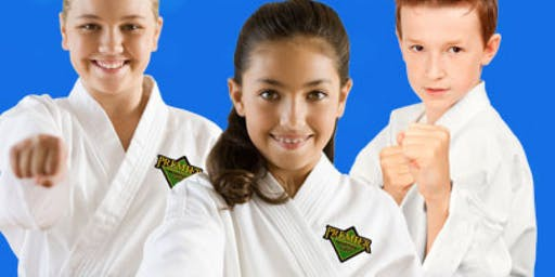 2 FREE KARATE CLASS AGES 8-12