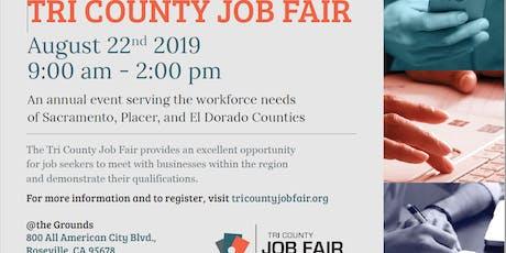 Tri County Job Fair - 60 Employers - 2000+ Job Opportunities tickets