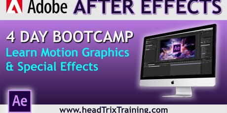 Join After Effects Bootcamp Training in Los Angeles & Save $100! tickets