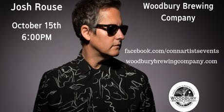 Josh Rouse at the Woodbury Brewing Company tickets