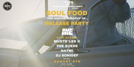 Soul Food Release Party tickets