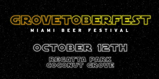 Grovetoberfest 2019 - Miami Beer Festival - Unlimited Beer