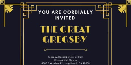The Great Gregsby tickets