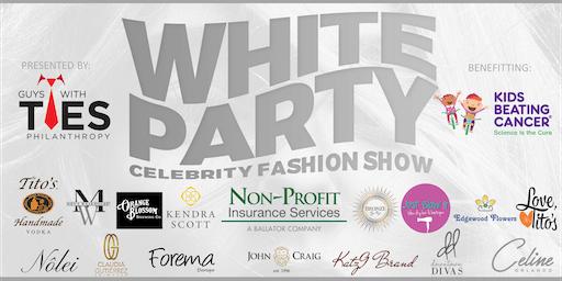 White Party Celebrity Fashion Show
