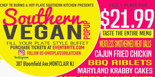Southern Vegan Pop Up Montclair NJ