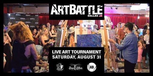 Art Battle Dallas - August 31, 2019
