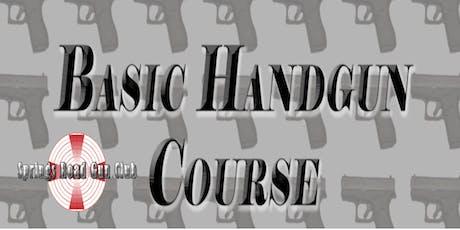 Basic Handgun Course tickets