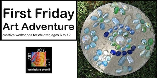 FIRST FRIDAY ART ADVENTURE: Stepping Stone