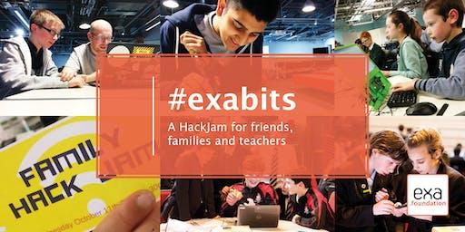 #exabits: Science Museum Family HackJam, London 29Aug19