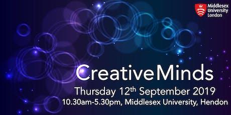 Creative Minds 2019 tickets