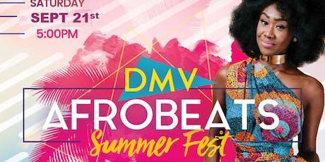 DC Afrobeats Summer Fest - Music | Food | Fashion | Art  tickets