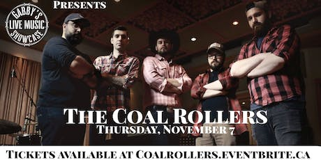 The Coal Rollers - Gabby's Live Music Showcase tickets