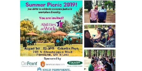 AAW Summer Picnic tickets