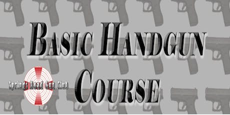 Basic Handgun Course tickets