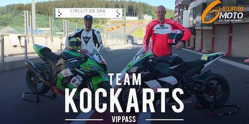 Team KOCKARTS - 6heures moto de Spa-Francorchamps - VIP Pass
