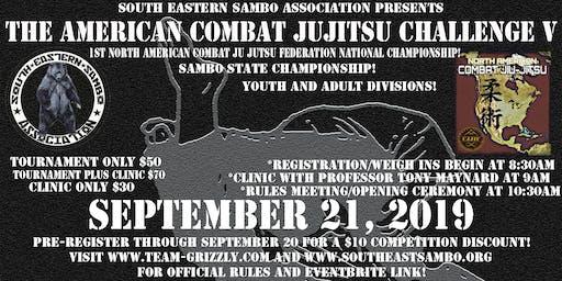 The American Combat Jujitsu Challenge V