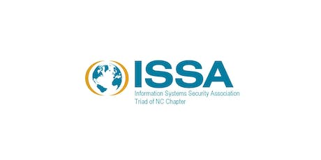Triad NC ISSA Monthly Meeting - 2019-08 @ Forsyth Tech tickets