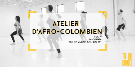 Atelier d'Afro-Colombien │ Tribu Kumbé tickets