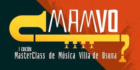 Master Class MAMVO Clarinete - Daniel Maldonado biglietti