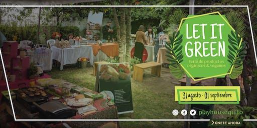 Let It Green: Feria de productos orgánicos y veganos