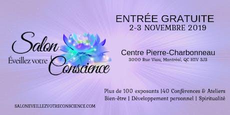 Salon Éveillez votre Conscience tickets