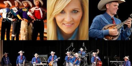 Riders in The Sky, Bob Wills Texas Playboys with Jason Roberts, Teea Goans tickets
