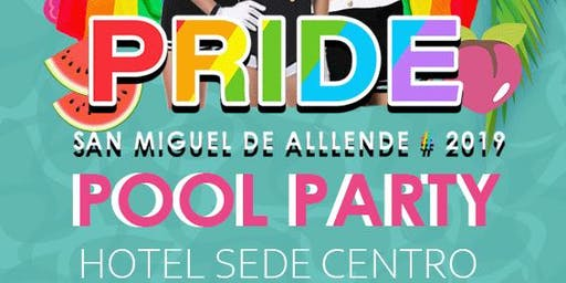 PRIDE Pool Party 2019