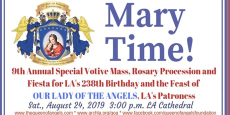Votive Mass at the Cathedral of Our Lady of the Angels tickets