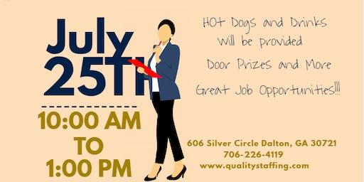 Job Fair!!! This Thursday!!!